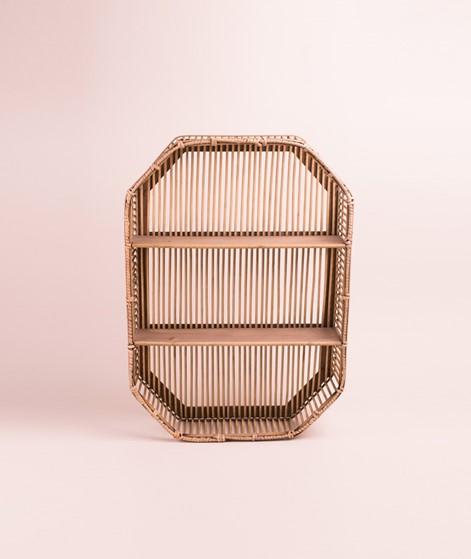 MADAM STOLTZ Rectangular bamboo shelf
