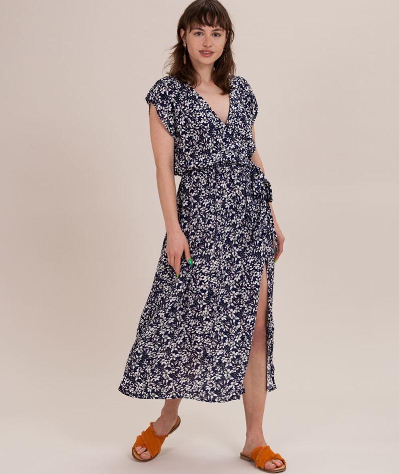MINKPINK Wild Jasmine Wrap Kleid multi