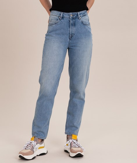 SELECTED FEMME SLFFrida Mom Jeans l blue