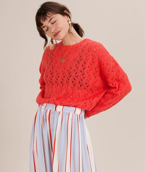 MOSS COPENHAGEN Dalta Pullover poppy red