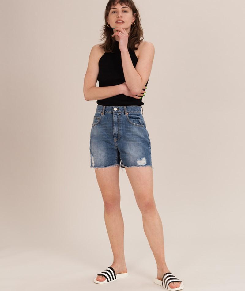 GLOBAL FUNK Pomono Shorts mid blue
