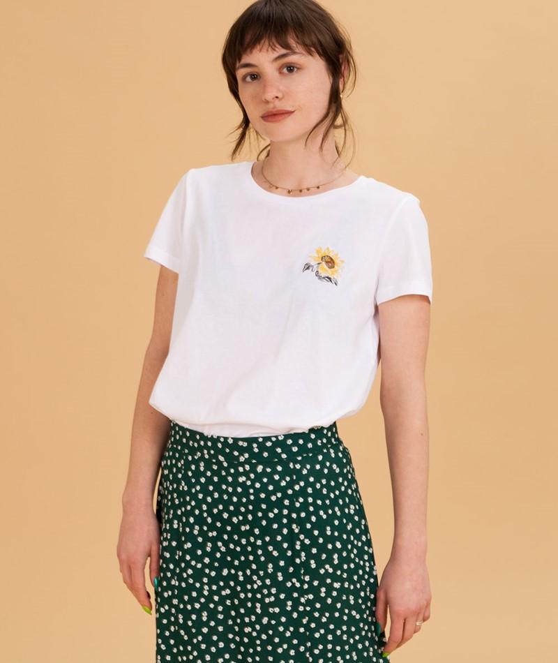 MOVES BY MINIMUM Lulu T-Shirt white
