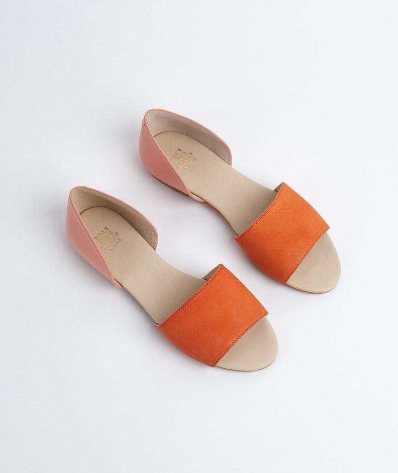 KAUF DICH GLÜCKLICH Sandale rosa/orange