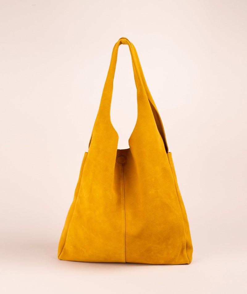 KAUF DICH GLÜCKLICH Shopper yellow