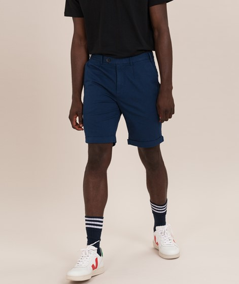 NOWADAYS Linen Turn-Up Shorts insignia b