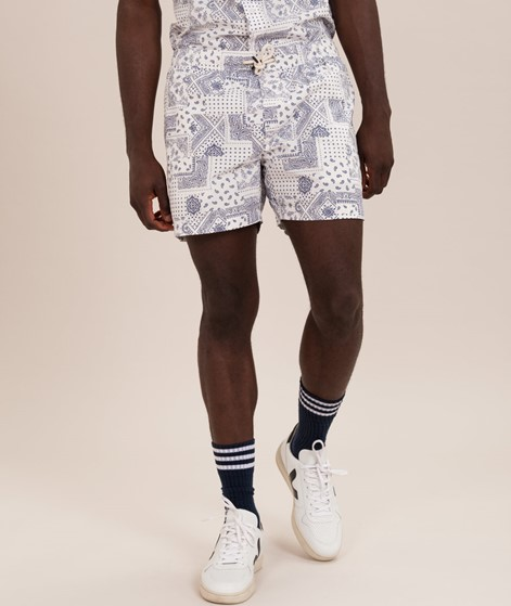 WEMOTO Cats Printed Badeshorts off white