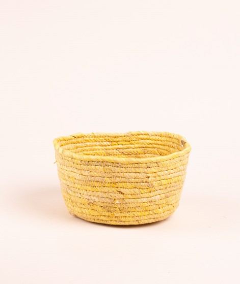 MADAM STOLTZ Corn basket lemon