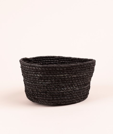 MADAM STOLTZ Corn basket black