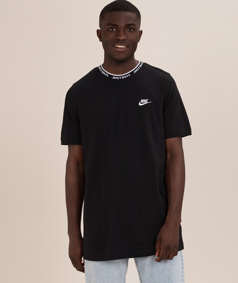 NIKE Just Do It T-Shirt black/white