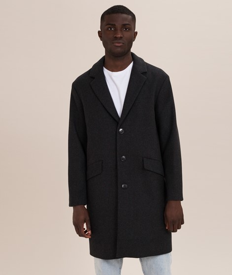 SELECTED HOMME SLHSmart Wool Mantel dark