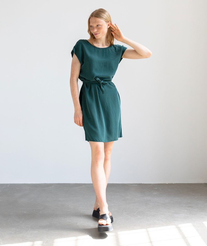KAUF DICH GLÜCKLICH Kleid opalgrün