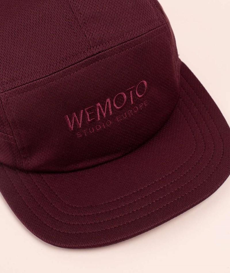 WEMOTO Studio Cap burgundy