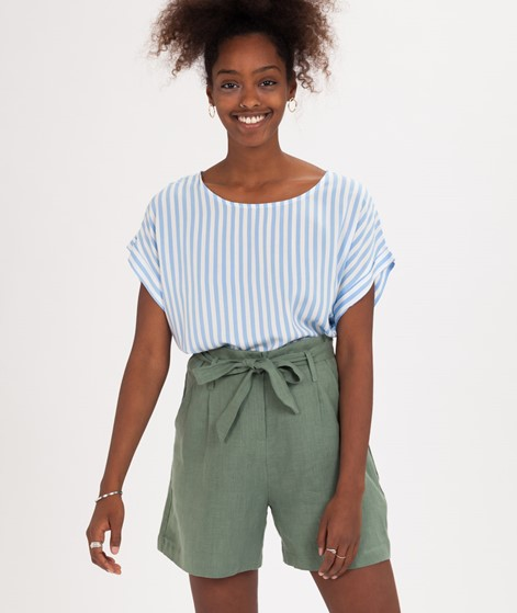 MBYM Cheeky T-Shirt blue bell stripe