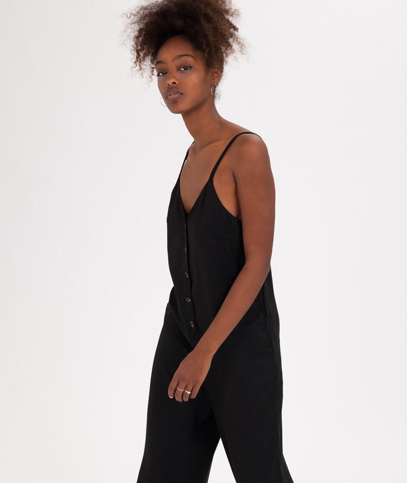 MINKPINK Tencel Jumpsuit black