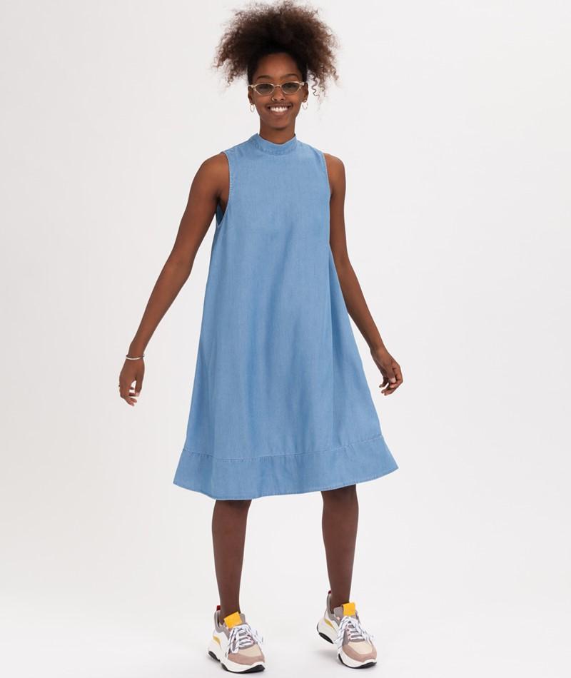 SELECTED FEMME SLFNoma Kleid light blue