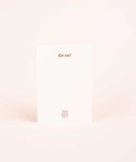 KAUF DICH GLÜCKLICH Postkarte amour