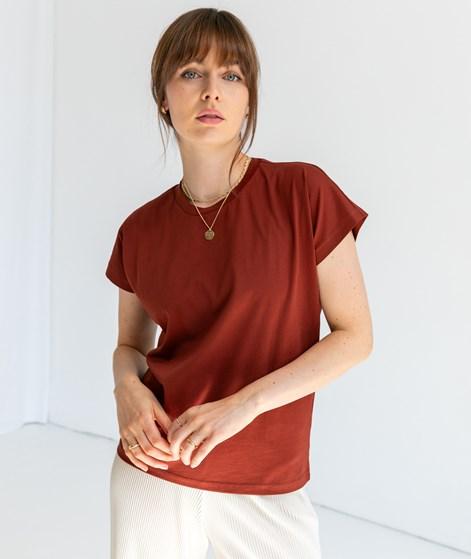 KAUF DICH GLUECKLICH Alisa Merz T-Shirt brick