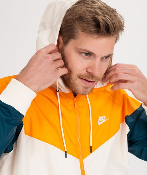 NIKE Windrunner Jacke light cream/orange