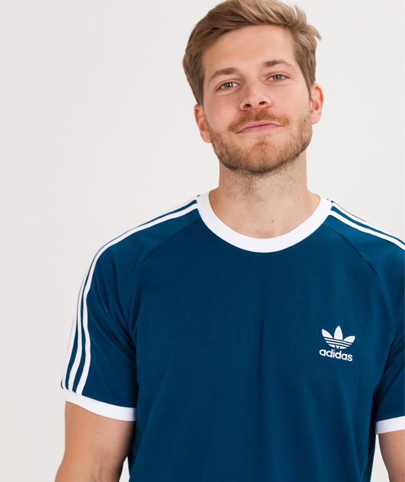 adidas 3 Streifen Sweatshirt blau | adidas Switzerland