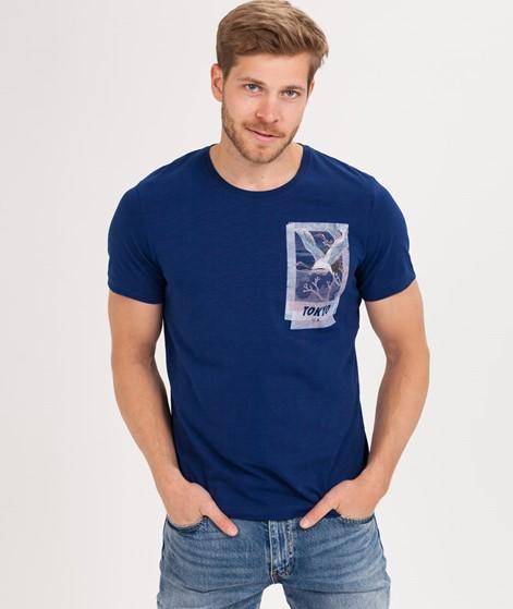 SELECTED HOMME SLHViktor T-Shirt blue de