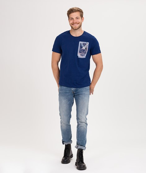 SELECTED HOMME SLHViktor T-Shirt blue de