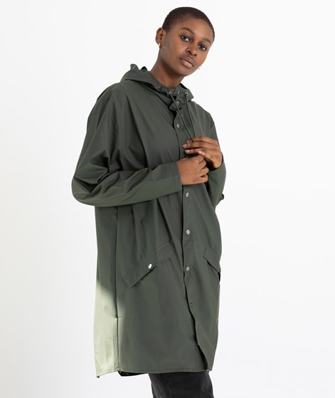 RAINS Long Jacket Jacke green