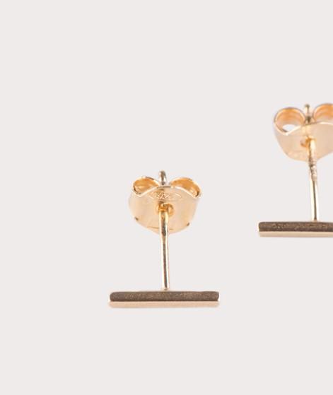 JUKSEREI Linie Ear Stud gold Xtra Fine