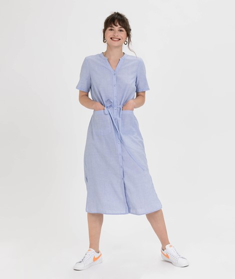 VILA Vinelia S/S Kleid powder blue