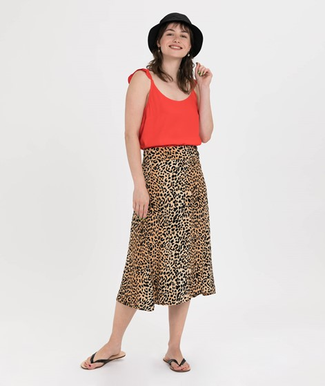JUST FEMALE Life Top fiery red