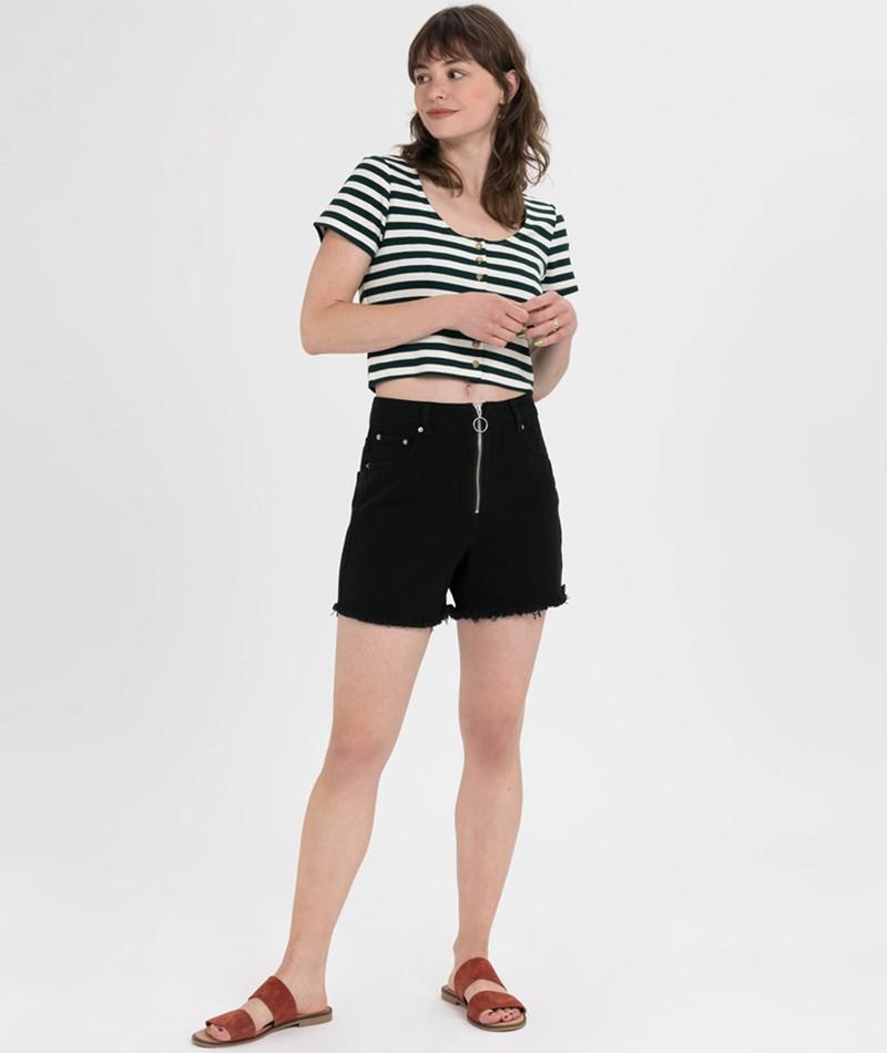 MOVES BY MINIMUM Sarafina Shorts black