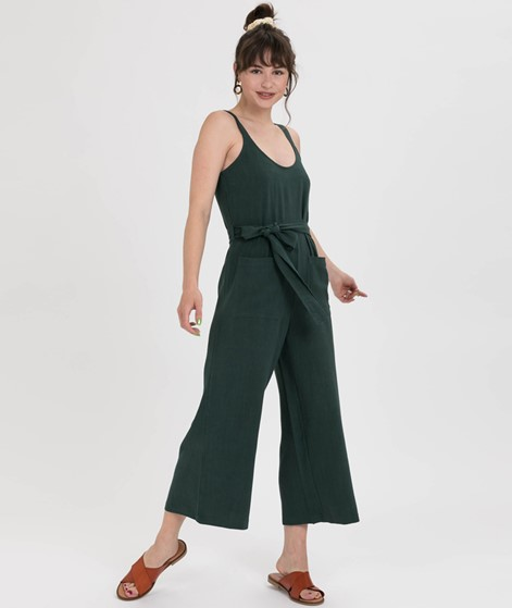 NATIVE YOUTH Leanne Jumpsuit dunkelgrün