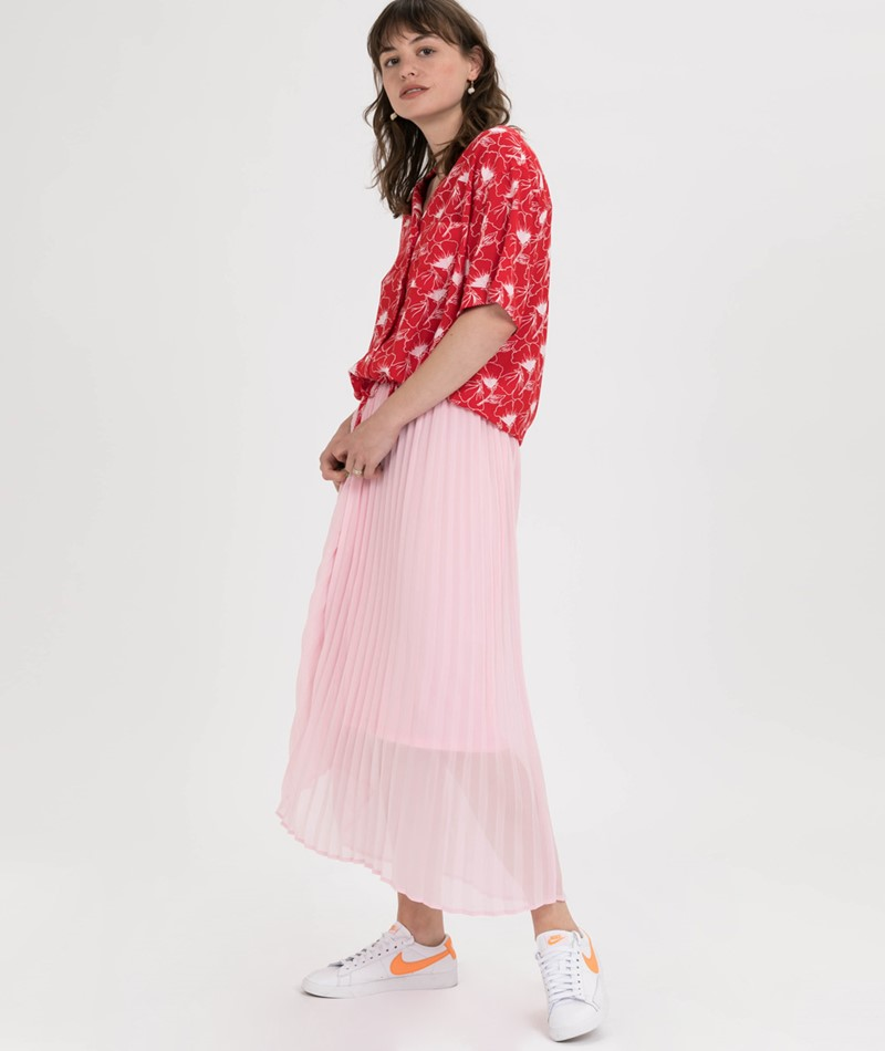 LEVIS Paloma Bluse floral brilliant red