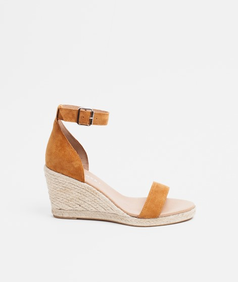 PAVEMENT Erin Sandalette tan suede