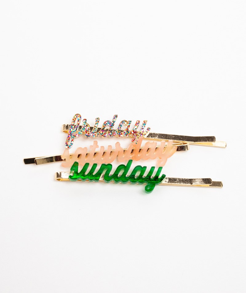 EBBA Hairclips weekend