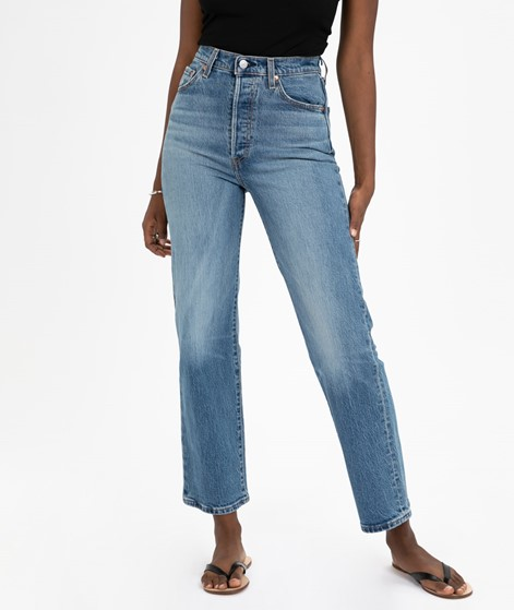 LEVIS Ribcage Straight Ankle Jeans jive swing