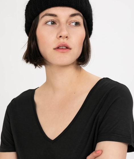 VILA Vinoel V-Neck T-Shirt black