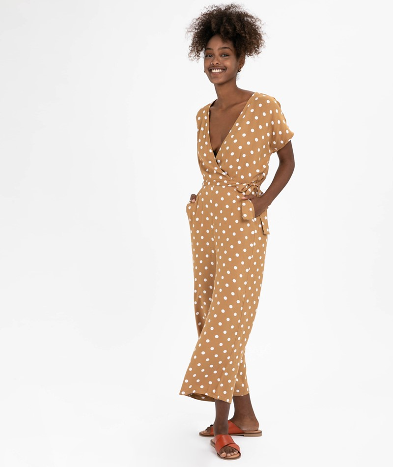 MINIMUM Cathleen Jumpsuit tobacco brown