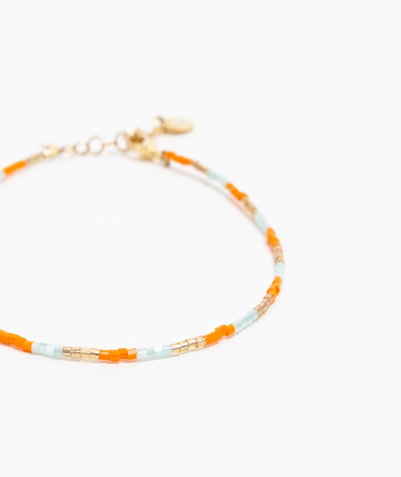 BLUSH INDIGO Lolli Mix Bracelet orange