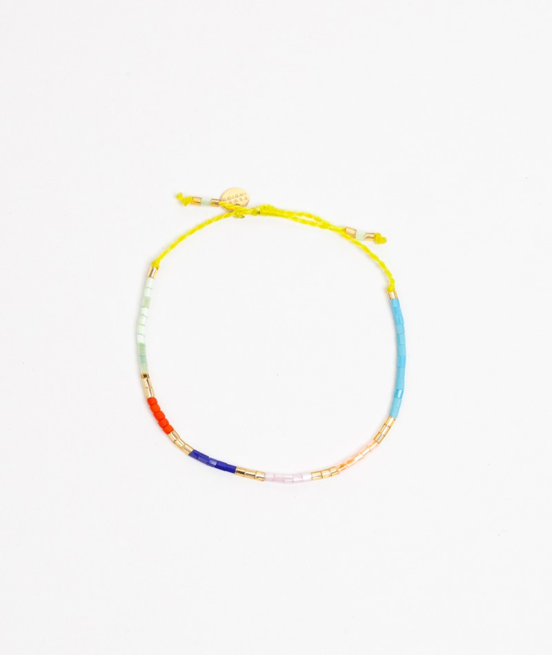 BLUSH INDIGO Sweet String Bracelet lime