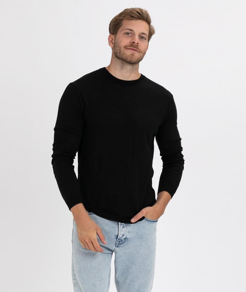 MINIMUM Arvid Pullover black
