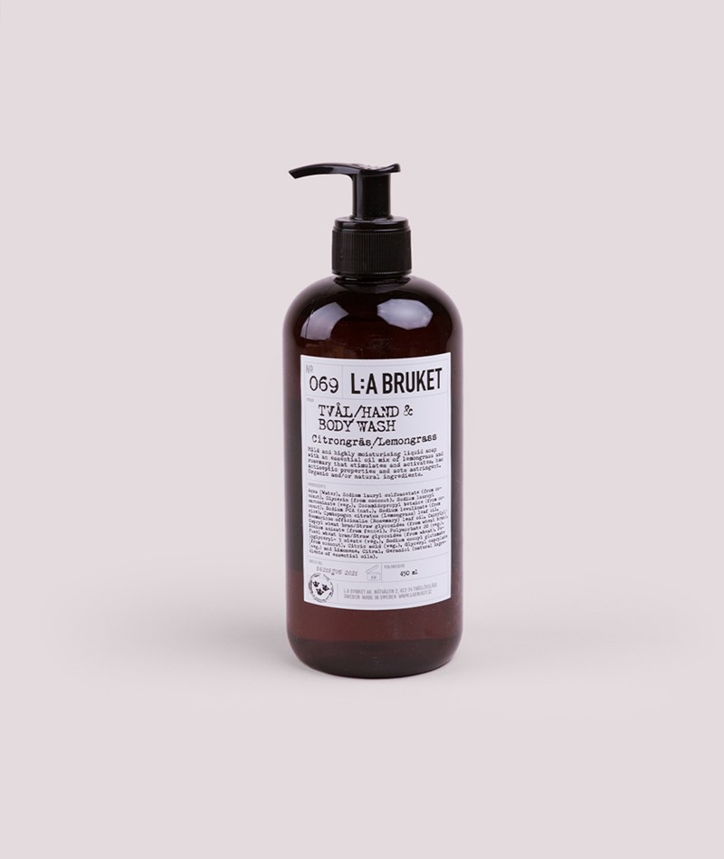 LA BRUKET No. 69 Liquid Soap Lemongrass