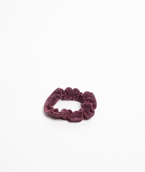 EBBA Small Lurex Scrunchie rosa