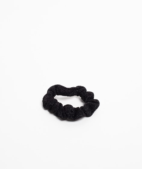 EBBA Small Lurex Scrunchie schwarz