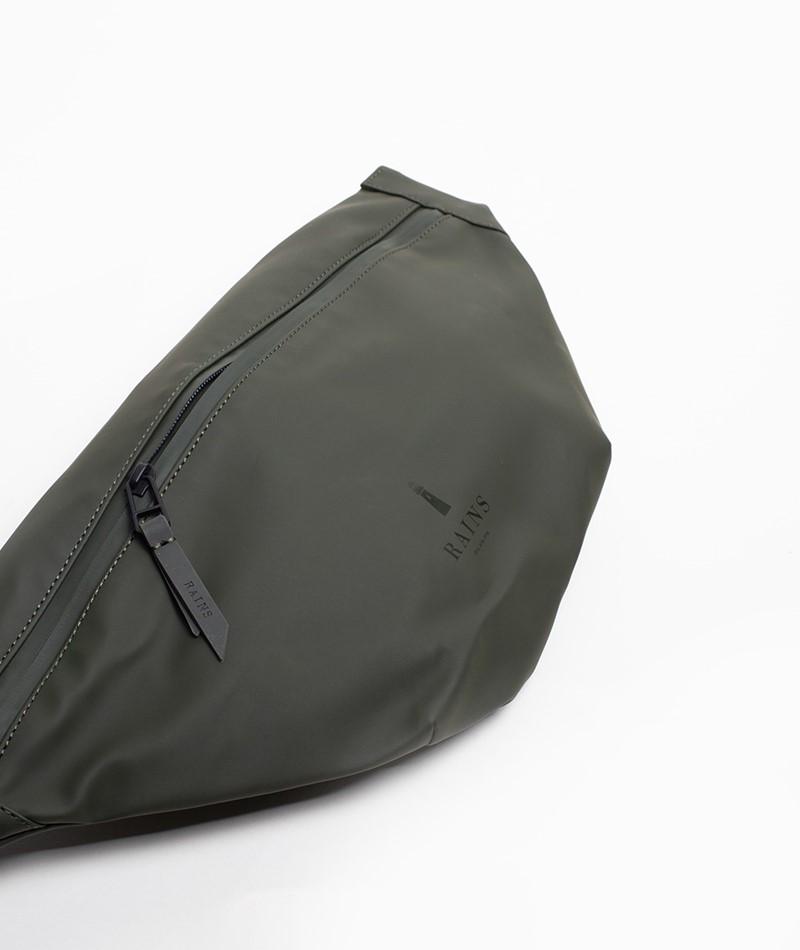 RAINS Bum Bag Bauchtasche green