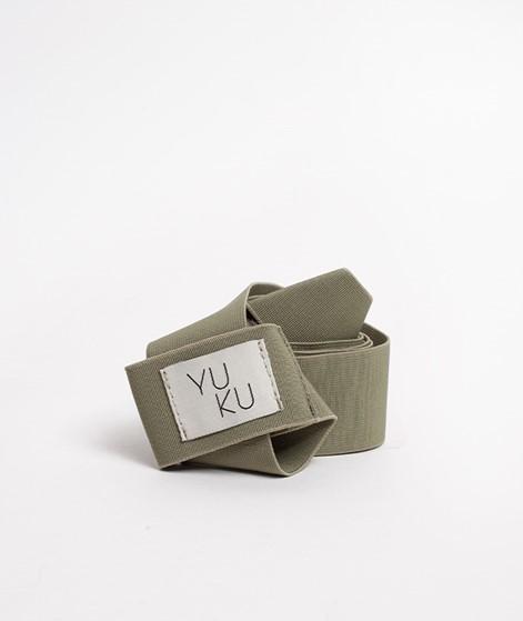 YUKU Yoga Tragegurt grün