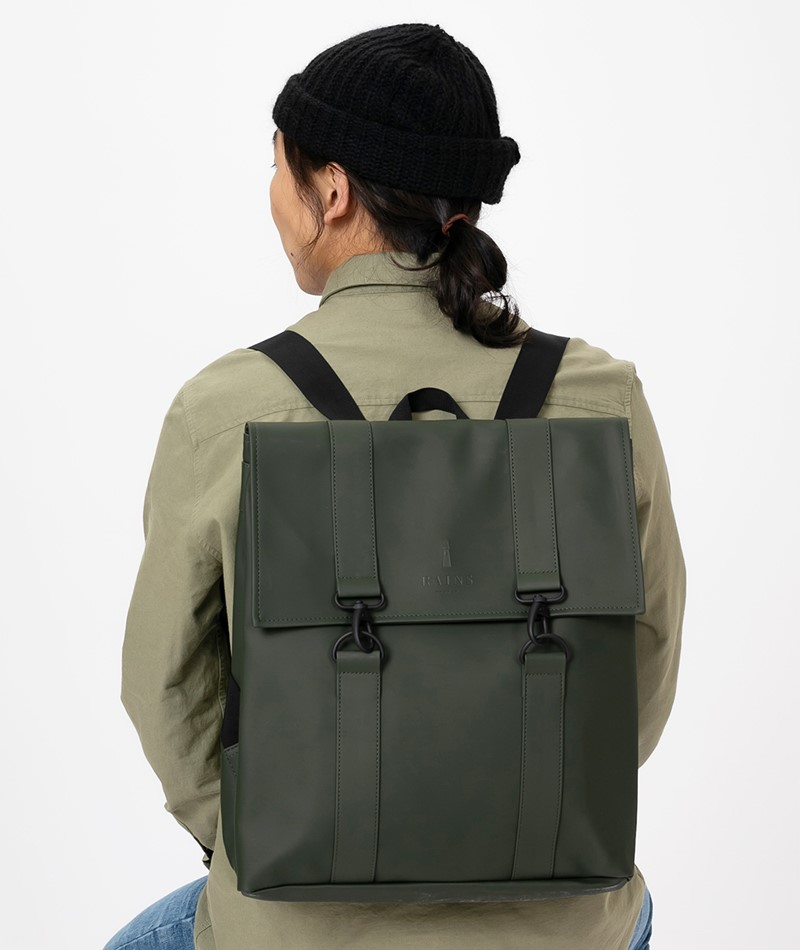 RAINS Msn Rucksack green