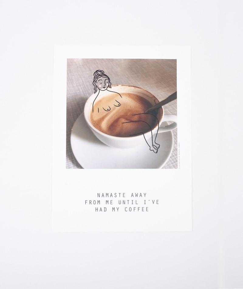 NAMASTE HANNAH x KDG Poster Coffee