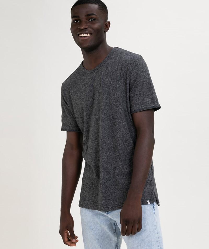 MINIMUM Delta T-Shirt dark grey melange