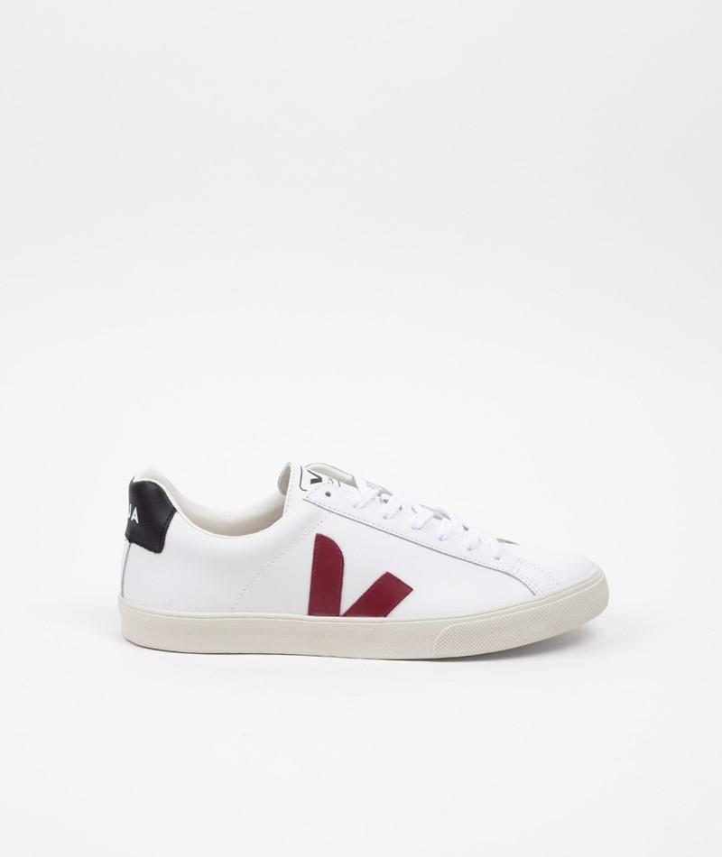 VEJA Esplar Logo Sneaker extra white marsala