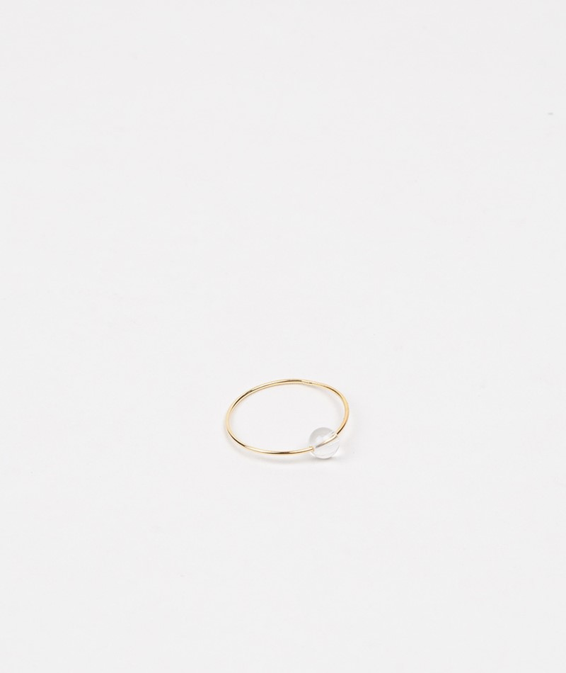 JUKSEREI Birthstone Ring April